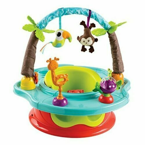 Summer 3 Stage Deluxe SuperSeat Wild Safari 360 Degree Rotating Tray