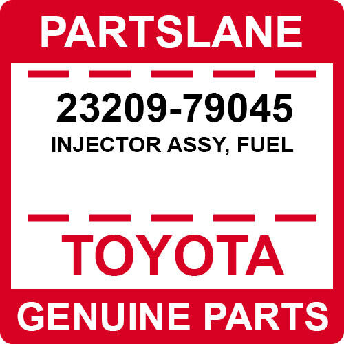 23209-79045 Toyota Oem Genuine Injector Assy, Fuel