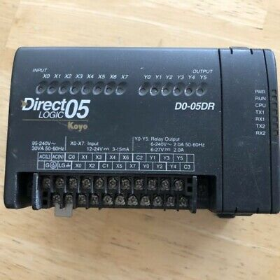 Direct Logic 05 Plc D0-05dr