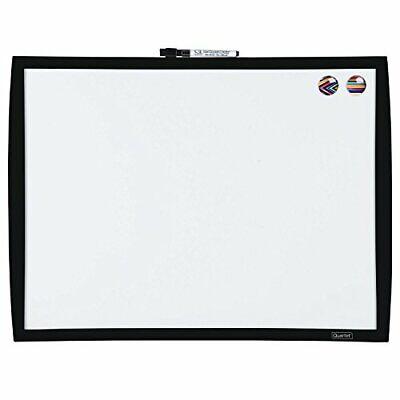 Quartet Magnetic Whiteboard 17 X 23 Dry Erase Board White Board 34608-bk