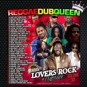 DJ Wass - Lovers Rock & Culture Mix 30. Reggae Mixtape CD. January 2019