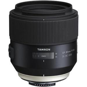 Tamron CANON 85mm F1.8 Di VC USD lens LIKE NEW IN BOX