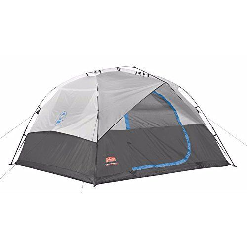Coleman 6-Person Instant Cabin Family Dome Tent with Built-I