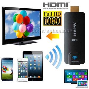 Measy Miracast AirPlay Dongle A2W EZCast for Tablet/ Smartphone Projection on TV