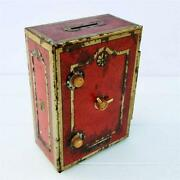 Vintage Tin Money Box