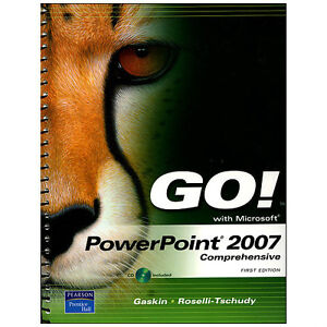 POWERPOINT 2007 COMPREHENSIVE W/CD (GO! WITH MICROSOFT)