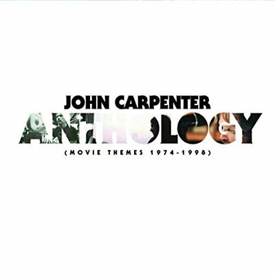 John Carpenter - ANTHOLOGY: MOVIE THEMES 1974-1998 [CD] (Halloween Music Techno)