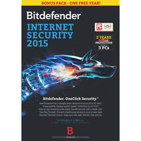Bitdefender Internet Security 2015 (PC) - 1 User - English