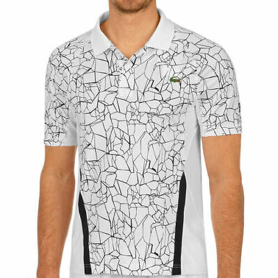 BNWT AUTHENTIC MEN'S LACOSTE SPORT NOVAK DJOKOVIC BREATHABLE ULTRA DRY POLO 4