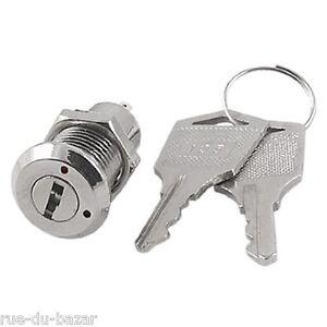 Interrupteur contacteur clé clef à pompe de contact 250v 12v 1T 2 positions +D7