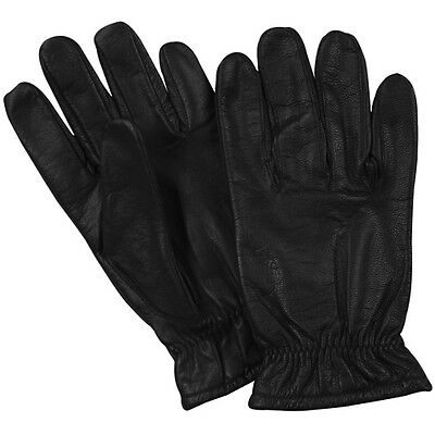 NEW Tactical Police Law Security Made with Kevlar Leather Extended Cuff Gloves S