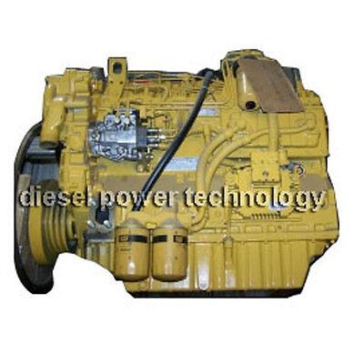 Caterpillar 3056e Remanufactured Diesel Engine Long Block Or 34 Engine