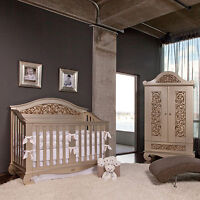 Open to The Public-Convertible Baby Cribs-Nursery/Gliders/Matts