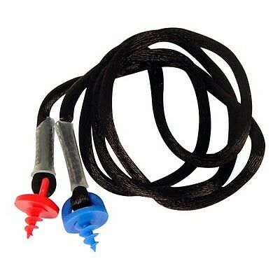 Neck Cord For Radians Custom Molded Ear Plugs Black Cepnc-b