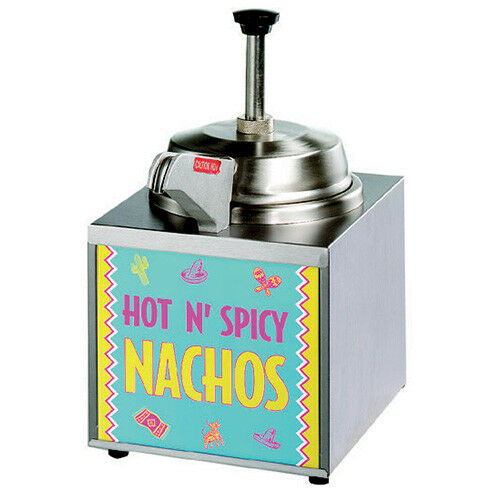 Star 3WLA-HS Lighted Nacho Cheese Warmer With Heated Spout