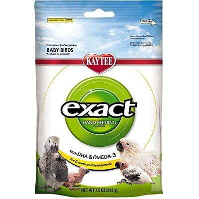 Kaytee Food Exact Handfeeding Nurture Baby Bird Meal High Fat Formula 7.5oz