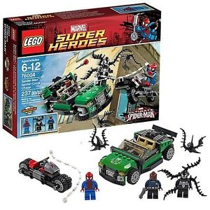 LEGO Marvel Spider-Man Spider-Cycle Chase