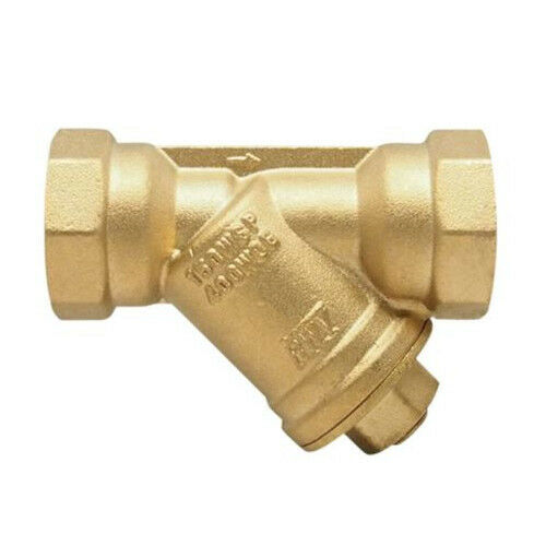 Red-White 380AB 1-1/4 inch Low Lead Brass Threaded Y-Strainer