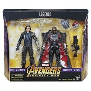Marvel Legends Avengers Infinity War Winter Soldier and Falcon
