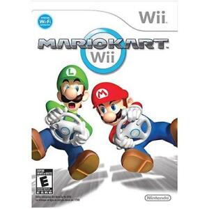 Mario Kart for Wii with Wheel