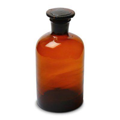 Karter Scientific Reagent Bottle Amber 500ml Narrow Mouth Wstopper - Single