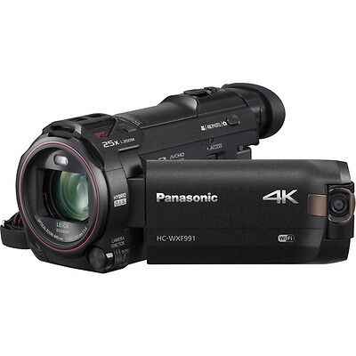 Panasonic HC-WXF991 4K Ultra HD Camcorder with Twin Camera - *NEW*