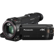 Panasonic HC-WXF991 4K Ultra HD Camcorder with Twin Camera - NEW! (HC-WXF991K)