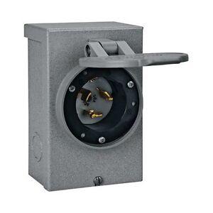 Reliance PB50 50 Amp Generator Power Inlet Box