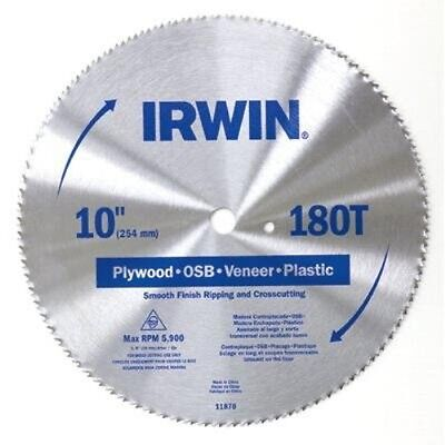 (Irwin 11220 Combination Circular Saw Blade, 6-1/2