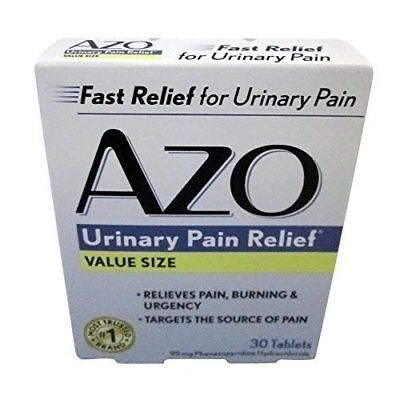 AZO Standard Urinary Pain Relief Tablets, 30-count Boxes by -