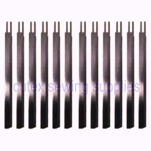 "Eastman Straight Cutting Machine 6"" Knife Blades - 12 Pack"