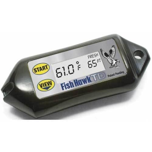 Fish Hawk TD Digital water temperature and depth