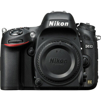 Nikon D610 24.3MP Digital SLR Camera - Black (Body Only) #1540