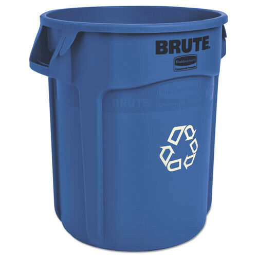 Rubbermaid Commercial 262073BLU Brute 20 Gal. Recycling Container - Blue New