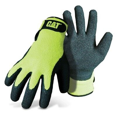 Caterpillar Hi Vis Latex Coated Palm Gloves Xl Cato17417j En3881231