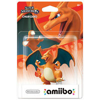 My CHARIZARD Amiibo For Your NEW *New* 3DS XL CLEAR CASE + $5