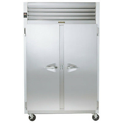 Traulsen G22010 2 Section Solid Door Reach-in Freezer- Hinged Leftright