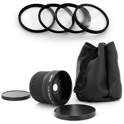 Albinar 58mm Fish Eye 0.18x Lens,macro Kit For Nikon D90 ...