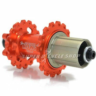Circus Monkey HDW MTB Disc Hubs,32 Hole,1 Pair,Orange