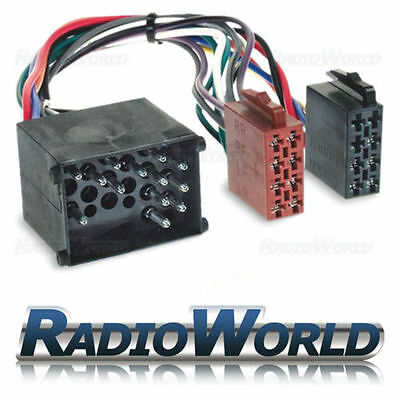 MG ZR ZS ZT ZTT Car Stereo Radio ISO Adaptor Lead Wiring Loom Harness Connector
