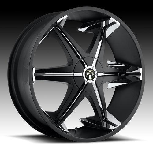 Black Wheels Dub Alloys: 28 Dub Rims: Wheels, Tires & Parts