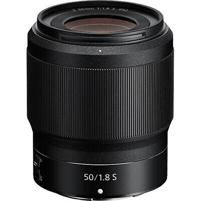 Nikon NIKKOR Z 50mm f/1.8 S Lens - Black - (20083)