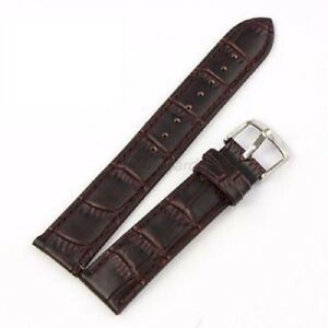 Women Men Genuine Leather Watch Strap Band Replacement Wrist