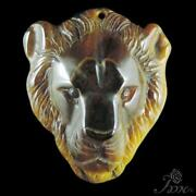 Carved Lion Pendant