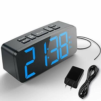 HAPTIME Digital Alarm Clock Radio for Bedrooms with FM Auto-Scan, Dual-Alarm,