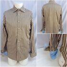Rufus Brown Dress Shirts for Men