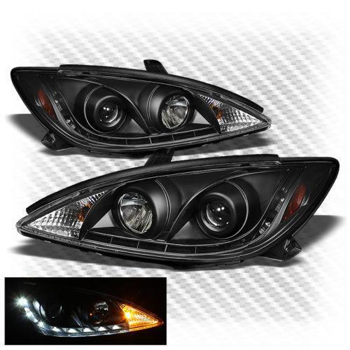 camry black headlights ebay. Black Bedroom Furniture Sets. Home Design Ideas