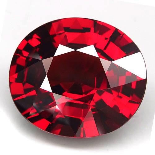 14.55ct.100%Natural Top Red Spessartite Garnet Unheated AAA Brilliant Gem Huge!