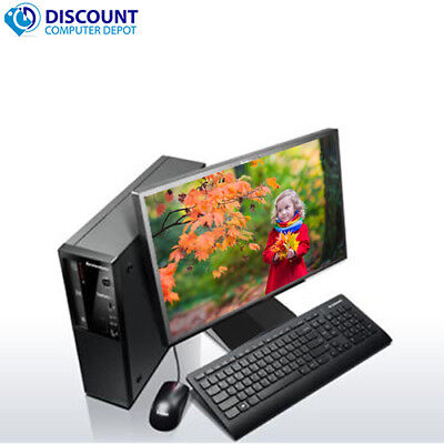 Lenovo ThinkCentre Edge 72 Desktop Computer i3 3.3GHz 4GB 250GB Windows 10 Home