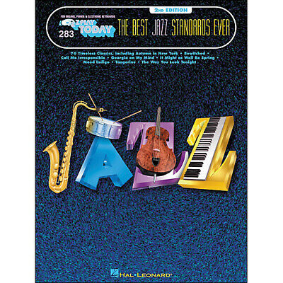 The Best Jazz Standards Ever 2nd Edition E-Z Play